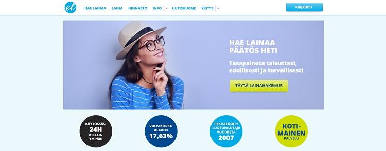 Euroloan joustoluotto 500-10.000 euroa